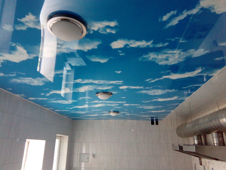 На потолке нарисовать небо своими руками 963