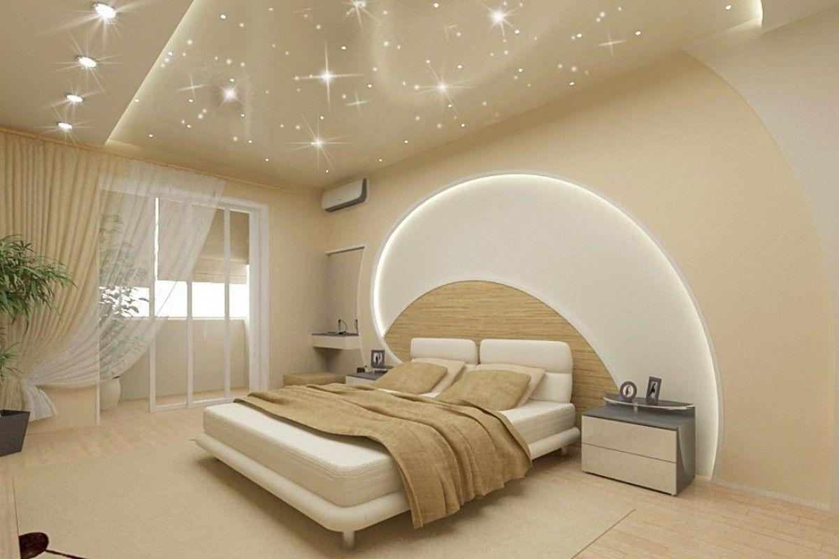 варианты натяжных потолков для спальни фото слово арзамас